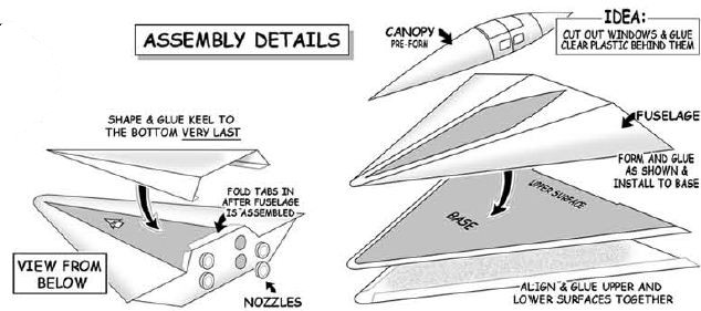 assembly details for convair orbital lifeboat