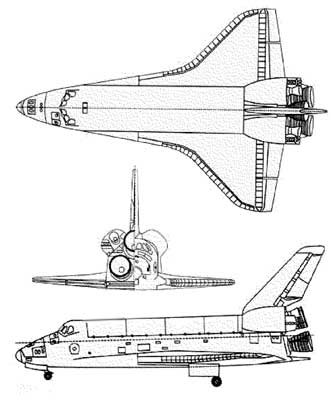 3 View of the Space Shuttle