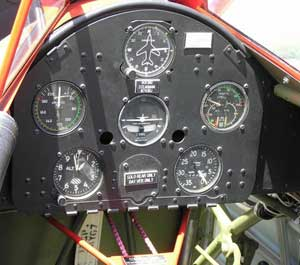 Rear Cockpit of the Boeing Stearman PT-17