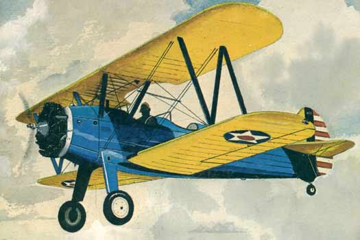 Stearman-PT17   Aircraft  