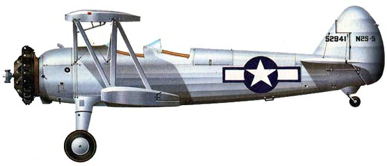 Boeing-Stearman PT-17 Kaydet drawing