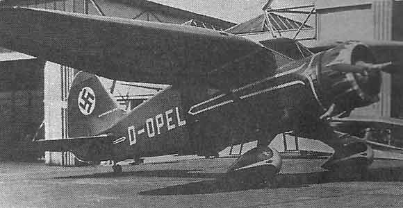 Captured  Stinson Reliant