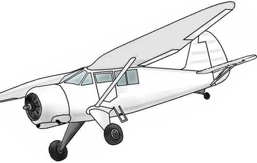 Stinson Reliant V-77 sketch