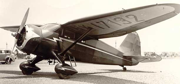 Stinson Reliant parked