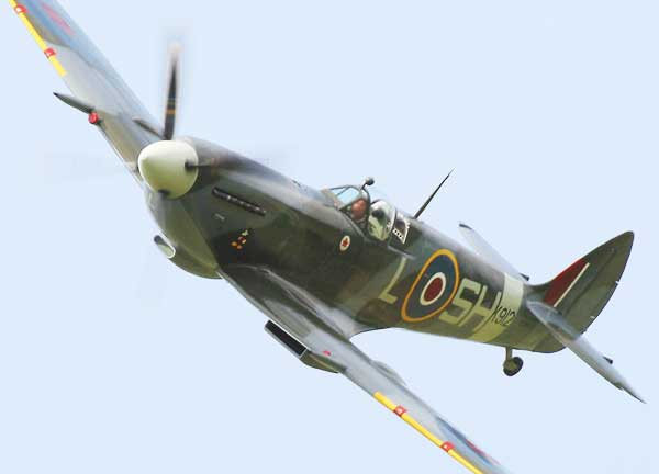 illustration for Supermarine Spitfire paper model