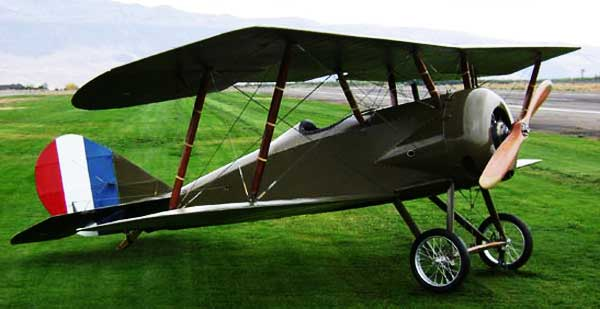 Thomas Morse S-4 WWI American Trainer paper model