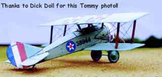 Thomas-Morse S-4 Tommy FG Cardmodel submitted by Dick Doll