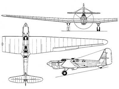 3 View of the Tupolev ANT-25