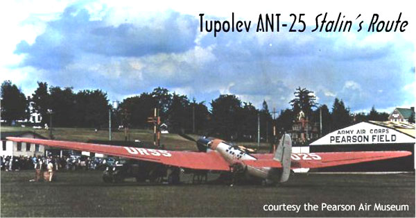 Tupolev ANT-25 at Pearson Field