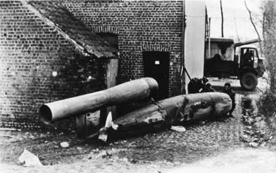 V-1 Unexploded Flying Bomb