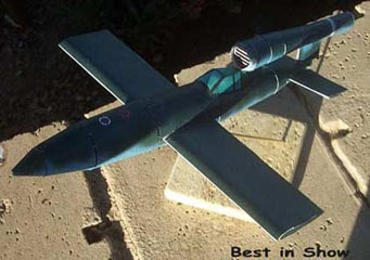 V-1 piloted version