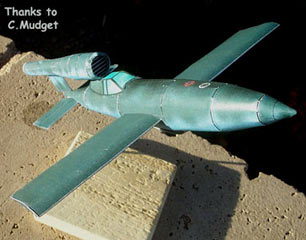 V-1 Manned version