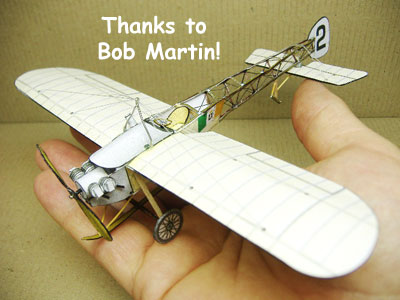 picture for FG paper model of the Bleriot Vickers 22