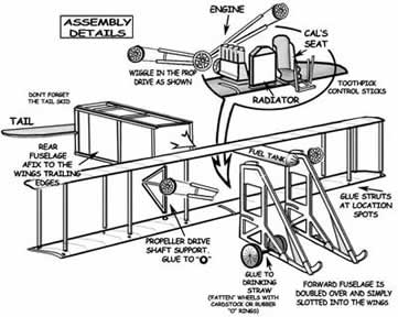 Assembly Details of the Vin-Fiz