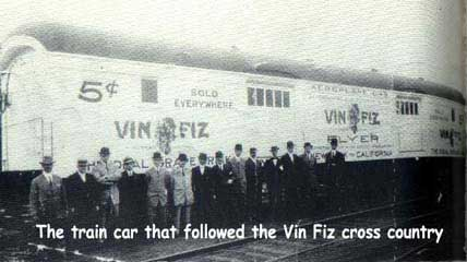 Vin Fiz support train