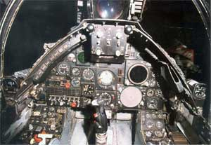 Vought A-7 cockpit