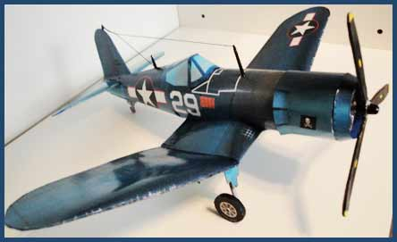 Vought's F4U Corsair Fiddlersgreen Modeling Madness 2010 winner