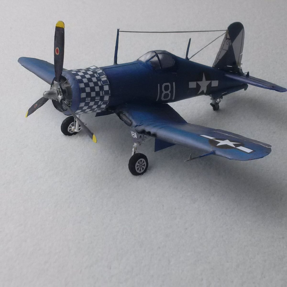Vought's F4U Corsair probable winner