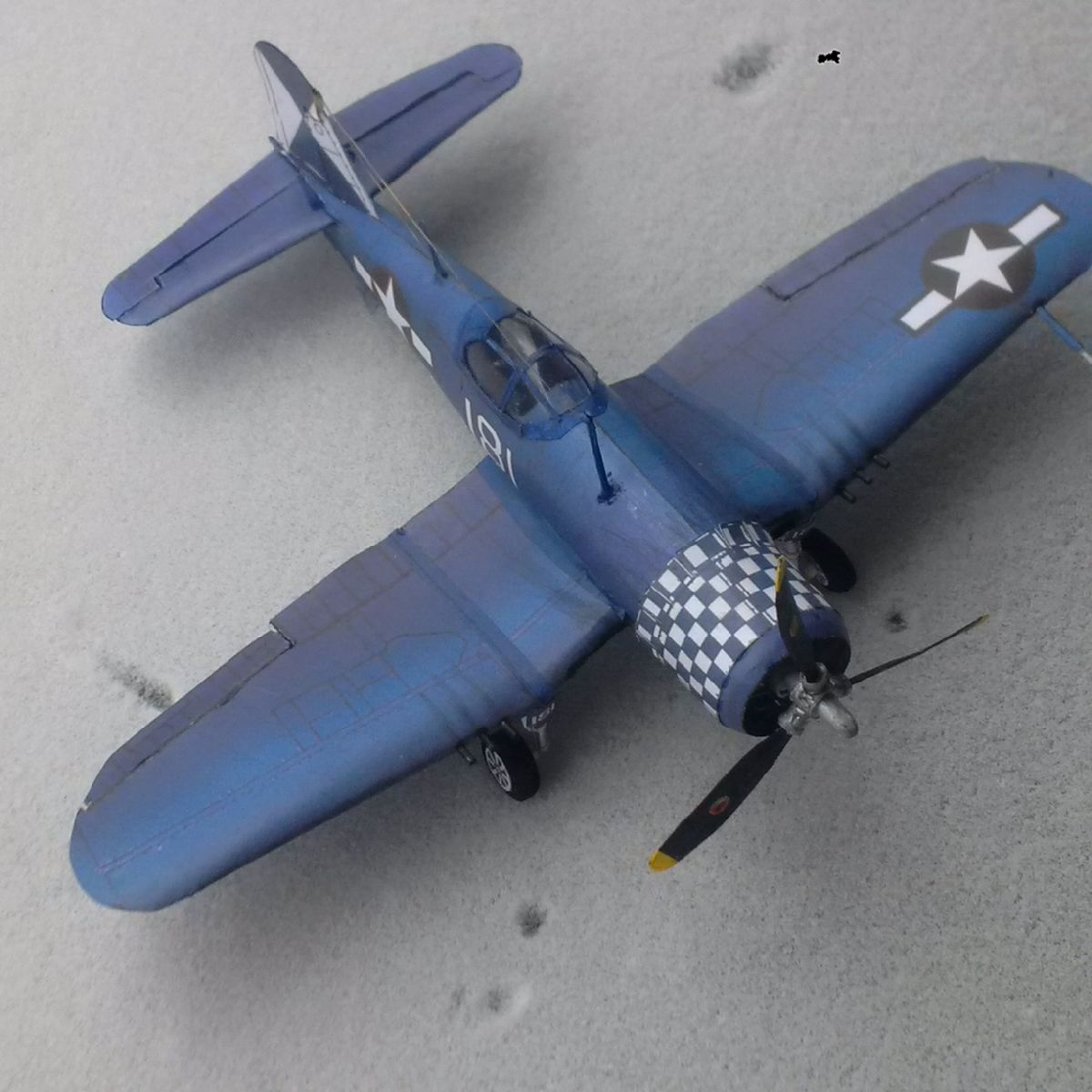 Vought's F4U Corsair model