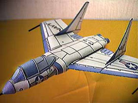 Vought Cutlass model