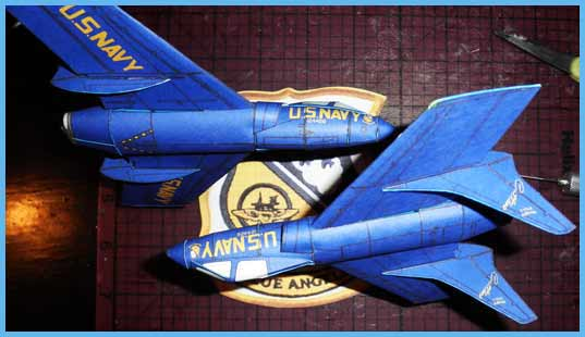 Vought F7U Cutlass Fiddlersgreen Modeling Madness 2010 Winner