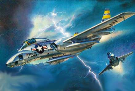 Vought F7U Cutlass Painting
