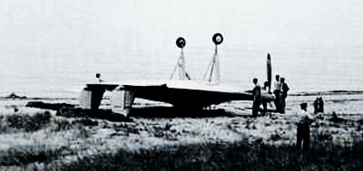 Vought V-173 Crash