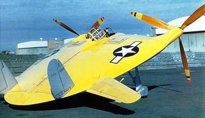 Vought V-173 Flying Flapjack