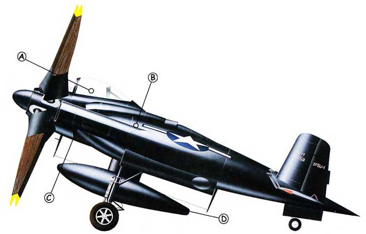 Vought XF5U Callout