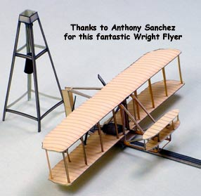 Wright Flyer downloadable cardmodel