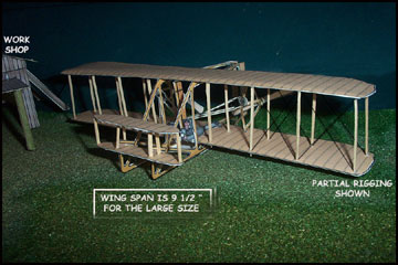 Wright Brothers Flyer model
