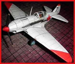 Yakovlev Yak-3 Fiddlersgreen Modeling Madnes 2010 Winner
