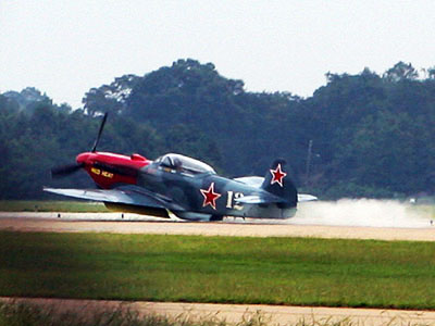 Yak-3 Belly Landing
