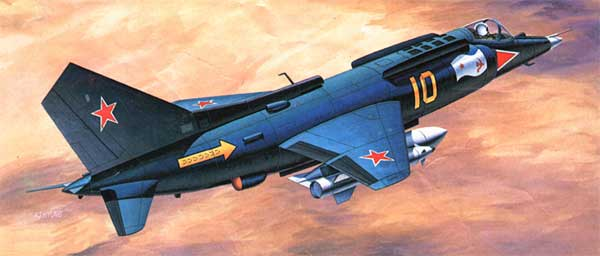 Russian Yakovlev YAK-38 Forger VTOL