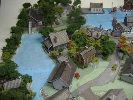 how to build a model town for school project