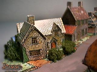 English Country House paper model