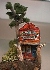 Funeral Parlor paper model