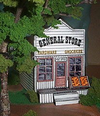 New England General Store paper model