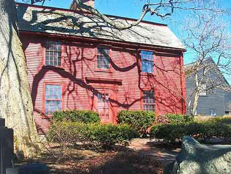 Nathaniel-Hawthorn-Birthplace in Salem-Ma