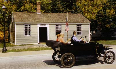 cute picure of greenfield village post office ford museum