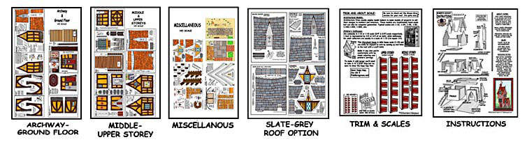 Roberts roost buildings - Printable ho scale building interiors ...