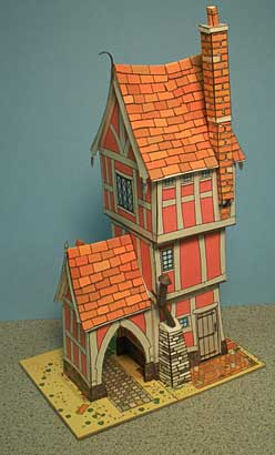 Story Book House-rear