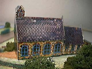School House paper model