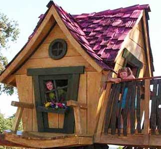 wonky playhouse plans