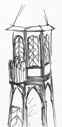 Early sketch of the Tower
