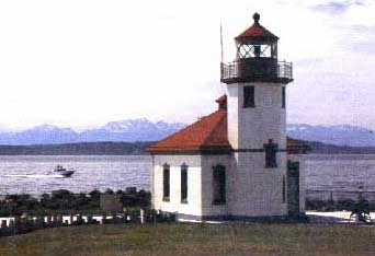 Picture for Paper Model of Alki Point Lighthouse