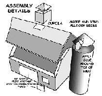 New England Barn assembly Details