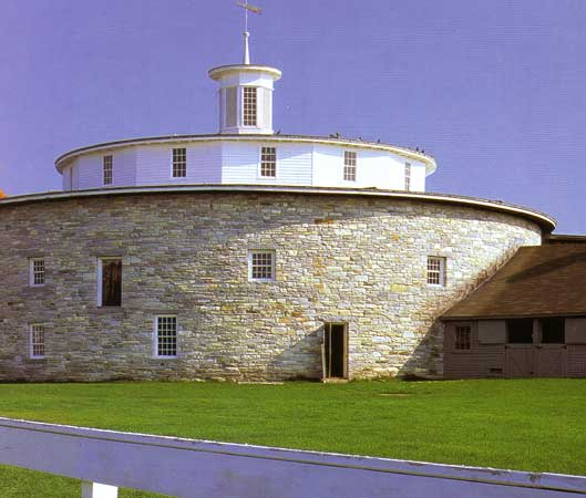 Round Barn at Pittsfield Ma