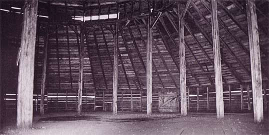 Multisided spacious barn