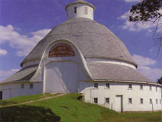 Round New England Barn Buildings